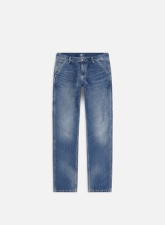 Carhartt - Ruck Single Knee Pant, Blue Mid Used Wash
