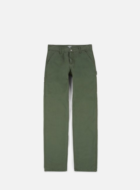 pantaloni carhartt ruck single knee pant dollar green stone