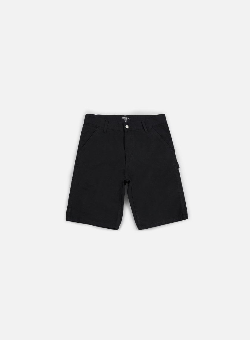 Carhartt - Ruck Single Knee Short, Black Rinsed