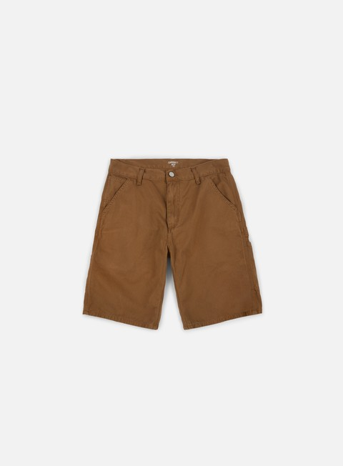 pantaloni carhartt ruck single knee short hamilton brown