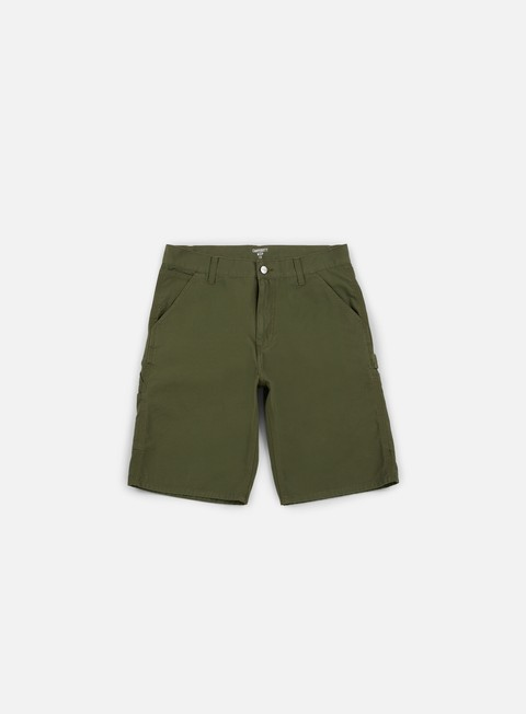 pantaloni carhartt ruck single knee short rover green