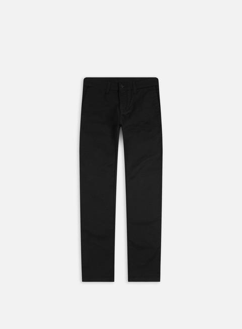 pantaloni carhartt sid pant black rinsed