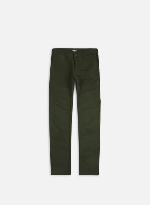 pantaloni carhartt sid pant cypress rinsed
