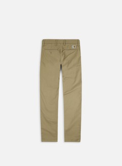 Carhartt - Sid Pant, Leather Rinsed 2