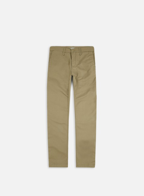 pantaloni carhartt sid pant leather rinsed