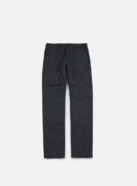 pantaloni carhartt tweed club pant black rigid