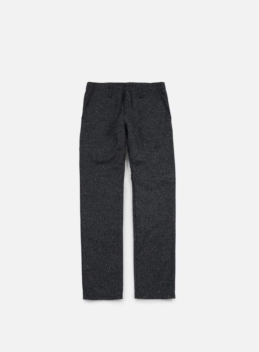 Carhartt - Tweed Club Pant, Black Rigid