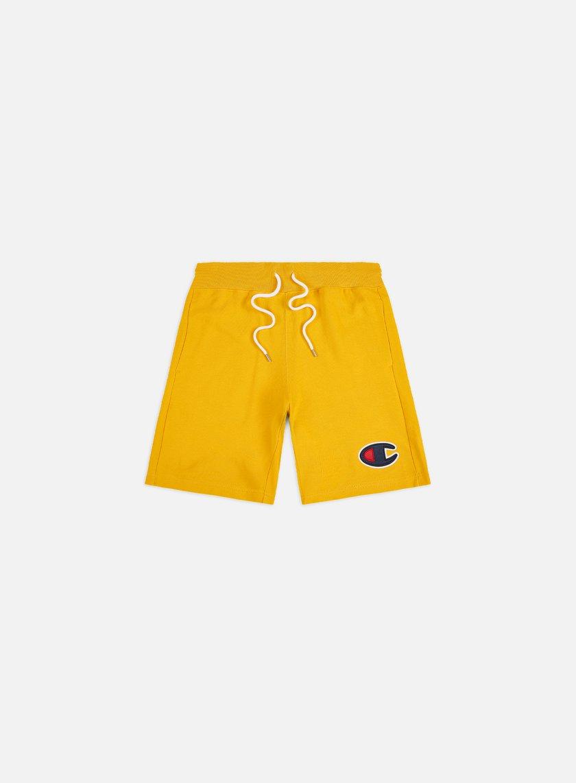 Champion C Logo Cotton Terry Bermuda Shorts