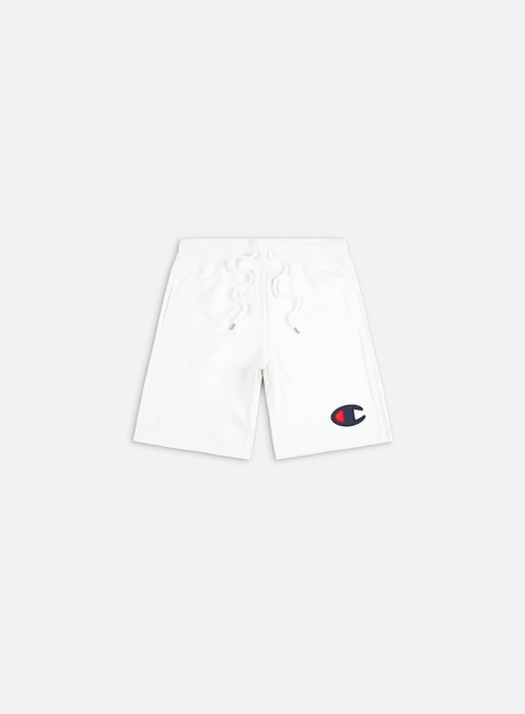 Pantaloncini Champion C Logo Cotton Terry Bermuda Shorts