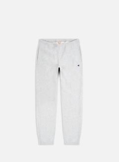 Champion - C Logo Patch Cuff Pants, Light Grey
