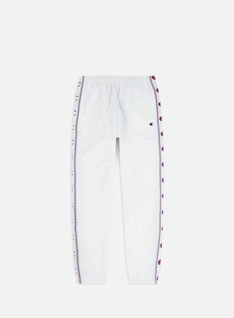 Outlet e Saldi Tute Champion C Logo Taped Track Pants