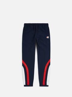 Champion - Mesh Inserts Track Pant, Navy/Red/White