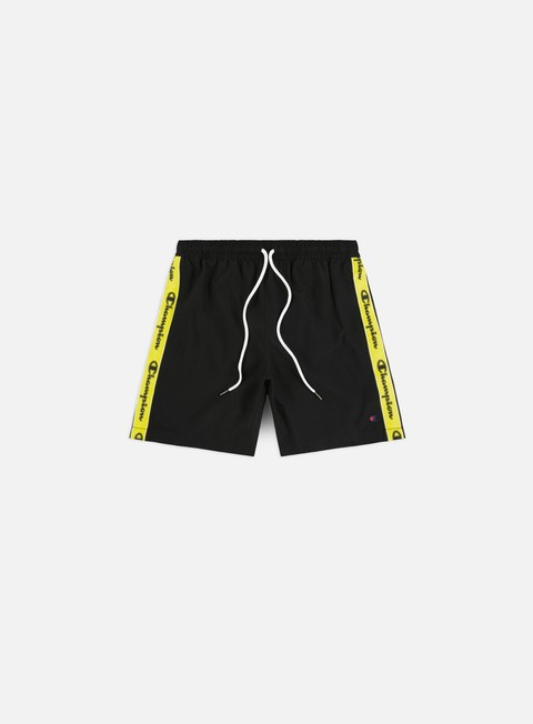 Outlet e Saldi Costumi da Bagno Champion Mono Taped Beach Shorts