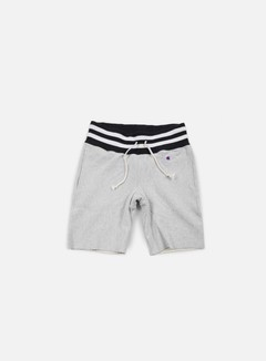 Champion - Reverse Weave College Terry Short, Heather Grey 1