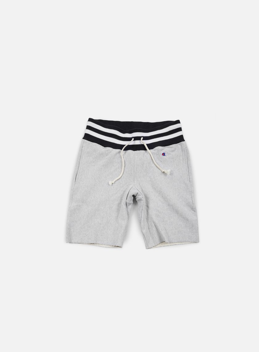 Champion - Reverse Weave College Terry Short, Heather Grey