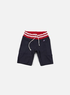 Champion - Reverse Weave College Terry Short, Navy 1