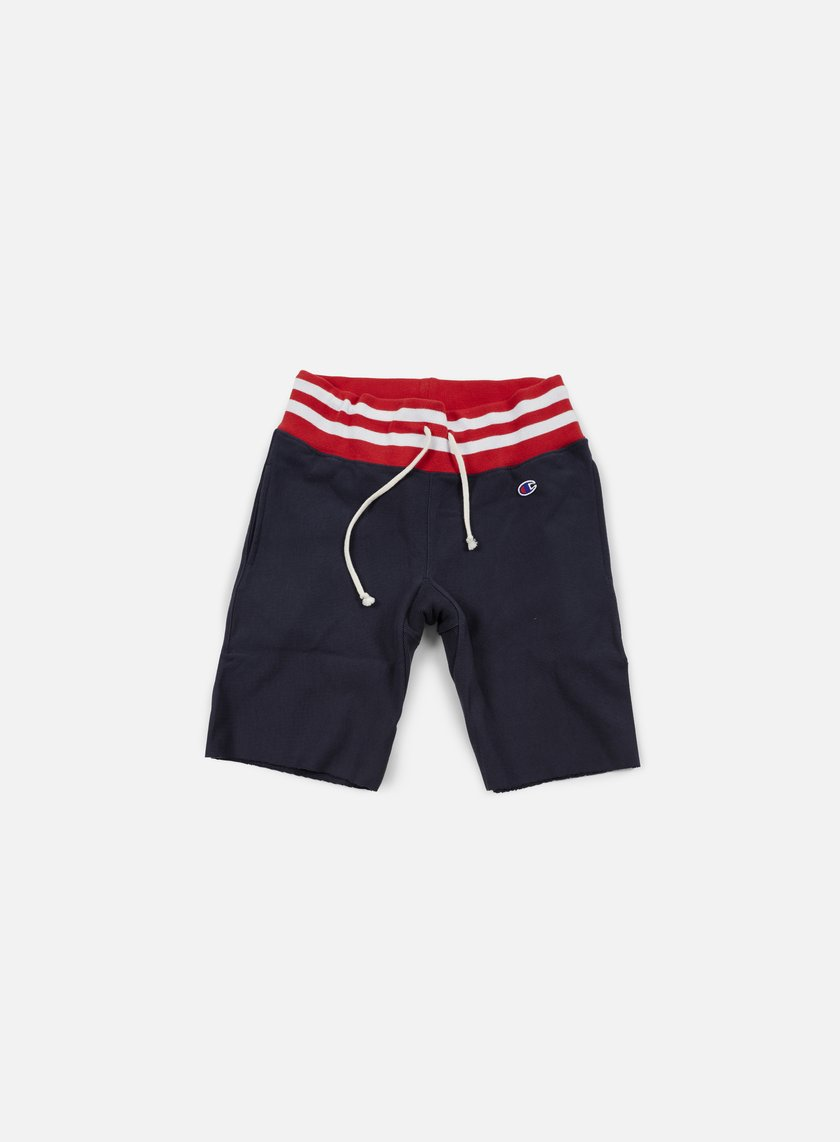 Champion - Reverse Weave College Terry Short, Navy