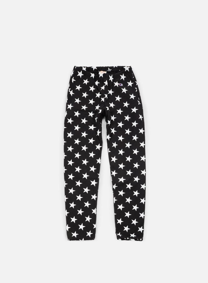 Champion - Reverse Weave Star Terry Pant, Black
