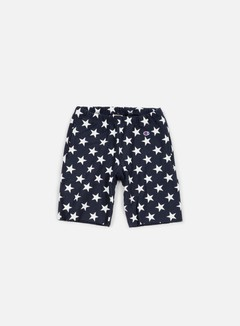Champion - Reverse Weave Star Terry Short, Navy 1