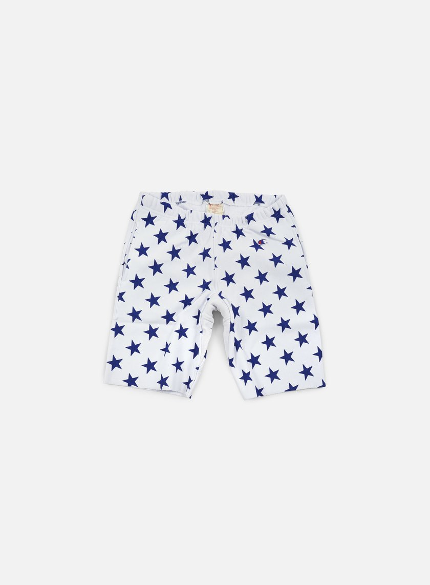 Champion - Reverse Weave Star Terry Short, White