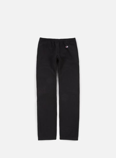 pantaloni champion reverse weave terry pant black