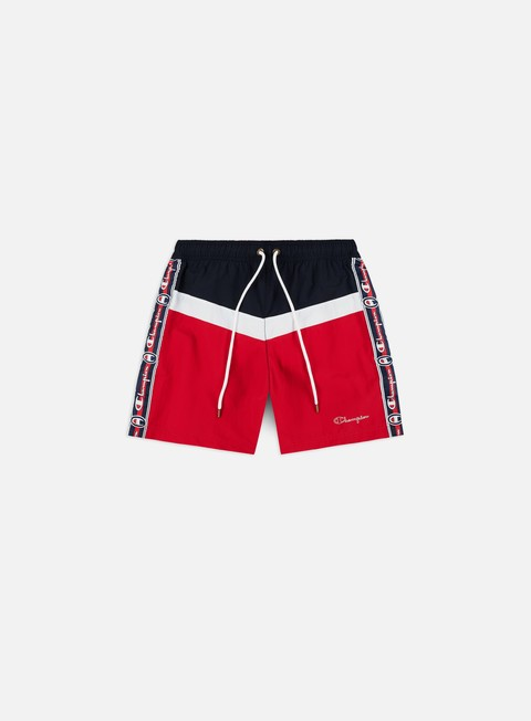 Outlet e Saldi Costumi da Bagno Champion Taped Beach Shorts