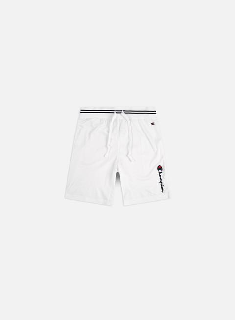 Pantaloncini Champion Vertical Script Logo Mesh Basketball Shorts