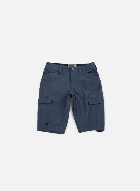 pantaloni chrome cargo short indigo