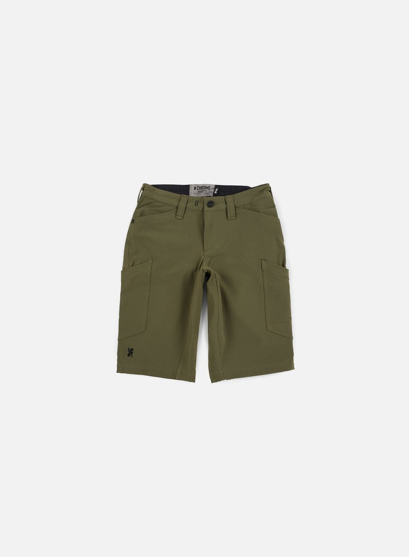 Chrome - Powell Cargo Short, Military Olive