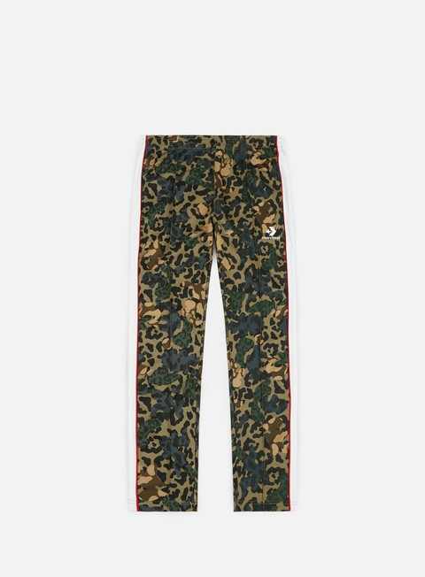 pantaloni converse camo track pant dusky green