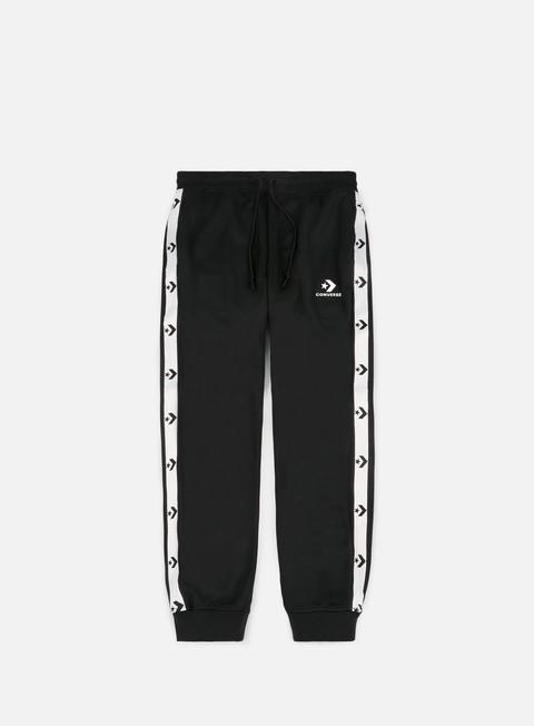 pantaloni converse converse star chevron track jogger pants converse black