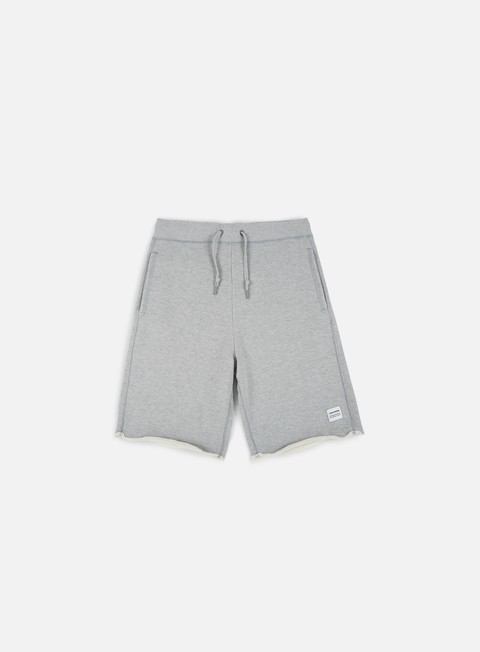 pantaloni converse essential cut off shorts grey heather