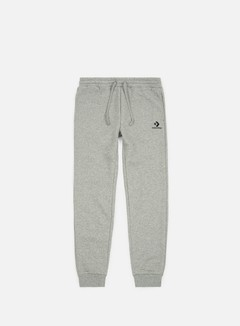 Converse - Star Chevron Emb Pant, Charcoal/Red