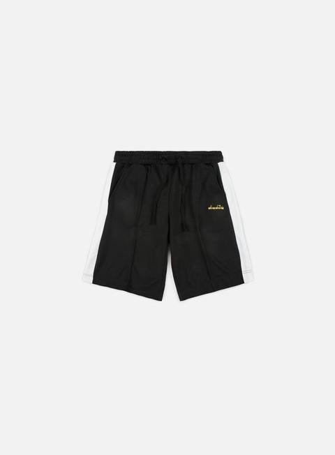 pantaloni diadora 80s bermuda short black