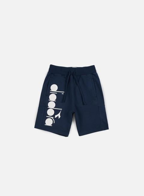 pantaloni diadora bl bermuda short blue denim