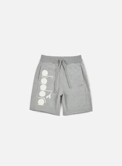 Diadora - BL Bermuda Short, Light Grey Melange