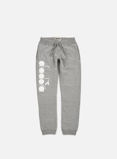 Diadora - BL Pant, Light Middle Grey Melange 1