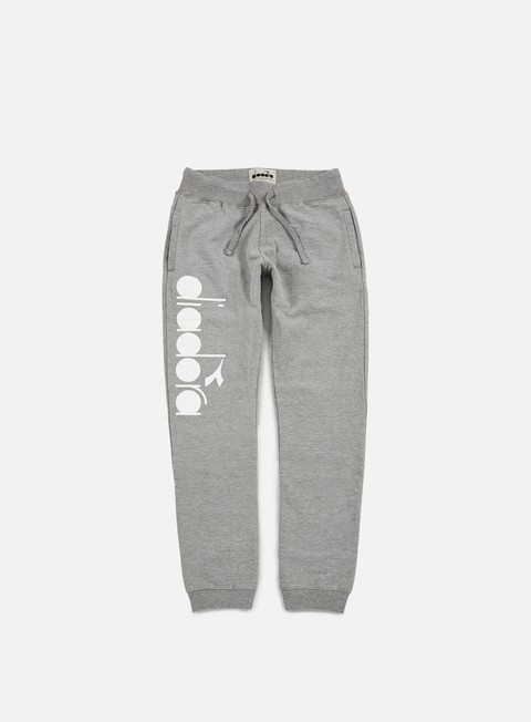 pantaloni diadora bl pant light middle grey melange