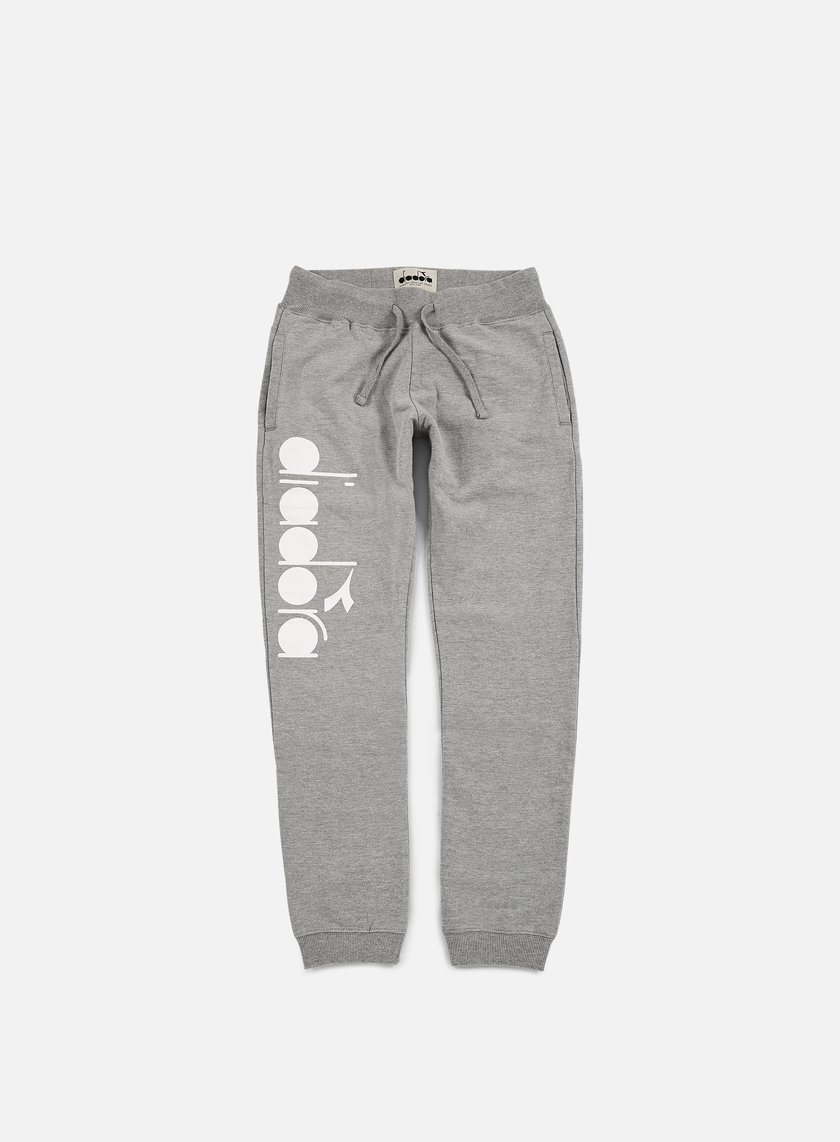 Diadora - BL Pant, Light Middle Grey Melange