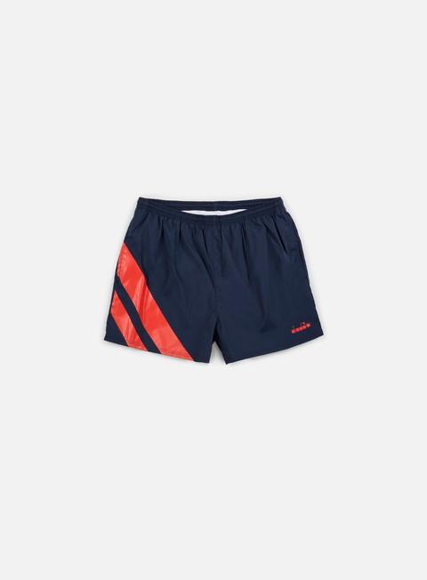 pantaloni diadora short og blu corsair