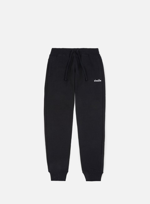 pantaloni diadora sl pant black optical white