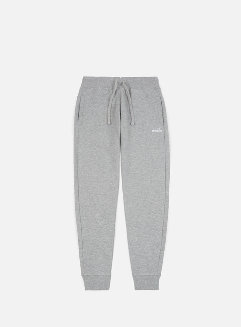 pantaloni diadora sl pant light middle grey melange