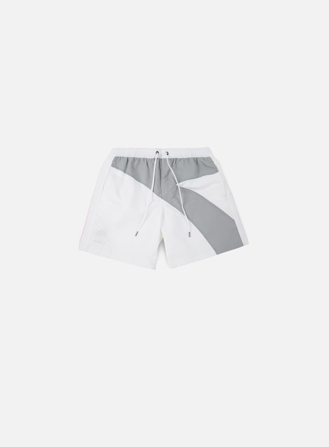pantaloni diadora sundek elastic waist boardshort white
