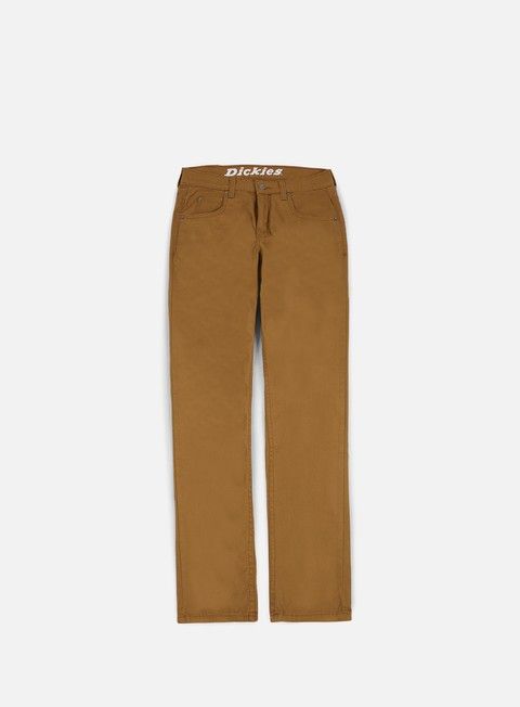 pantaloni dickies flex twill jeans pant brown duck