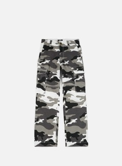 Dickies - New York Combat Pant, White Camouflage