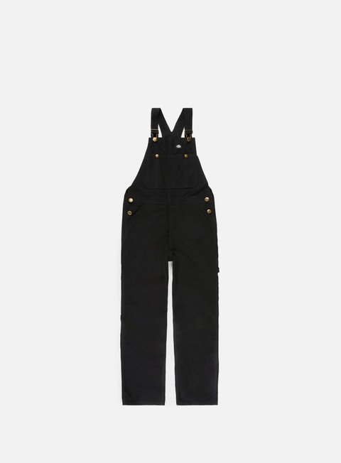 pantaloni dickies purdon bib overall black