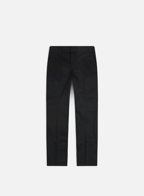 pantaloni dickies slim straight work pant black