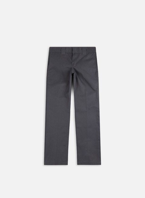 pantaloni dickies slim straight work pant charcoal
