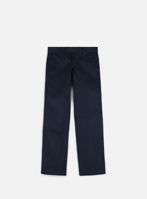 pantaloni dickies slim straight work pant dark navy