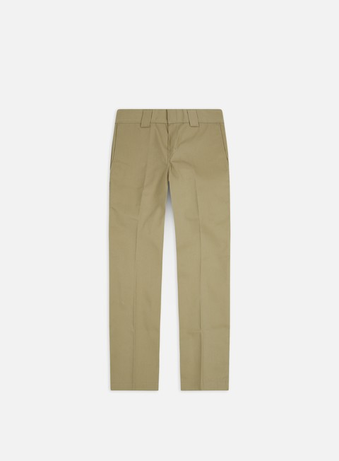 pantaloni dickies slim straight work pant khaki